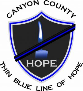 CC Sheriff HOPE Logo with Thin Blue Line